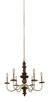 Picture for category Kalco Lighting 304950CG Chandeliers Champagne Gold Lassen