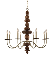 Picture for category Kalco Lighting 304951CG Chandeliers Champagne Gold Lassen