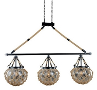 Picture for category Kalco Lighting 308560SZ Island Lighting Satin Bronze Hatteras