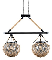 Picture for category Kalco Lighting 308561SZ Island Lighting Satin Bronze Hatteras