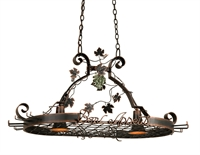 Picture for category Kalco Lighting 3635AC Island Lighting Antique Copper Bon Appetit