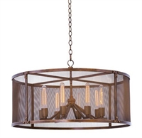 Picture for category Kalco Lighting 502151CP Pendants Copper Patina Chelsea