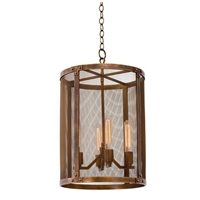 Picture for category Kalco Lighting 502153CP Pendants Copper Patina Chelsea