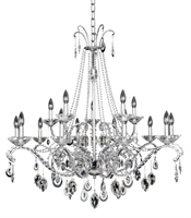 Picture for category Allegri 023552-010-FR001 Chandeliers Chrome Torrelli