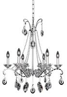 Picture for category Allegri 023554-010-FR001 Chandeliers Chrome Torrelli
