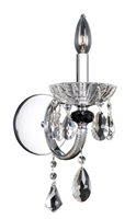 Picture for category Allegri 024220-010-FR001 Wall Sconces Chrome Steffani