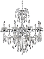 Picture for category Allegri 024252-010-FR001 Chandeliers Chrome Steffani
