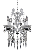 Picture for category Allegri 024253-010-FR001 Chandeliers Chrome Steffani