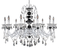 Picture for category Allegri 024353-010-FR001 Chandeliers Chrome Faure