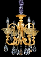 Picture for category Allegri 10457-016-SE001 Chandeliers Two-tone Gold/24K Legrenzi