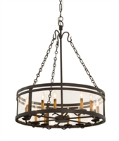 Picture for category Kalco Lighting 5797BZ Chandeliers Bronze Morris
