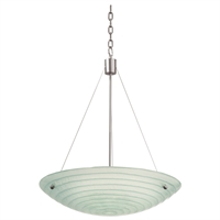 Picture for category Kalco Lighting 5985SN Pendants Satin Nickel Aqueous