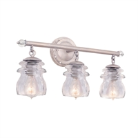 Picture for category Kalco Lighting 6313PS Bath Lighting Pearl Siler Brierfield