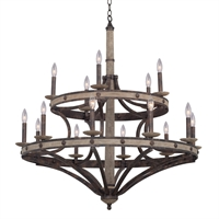 Picture for category Kalco Lighting 7040FG Chandeliers Florence Gold Coronado