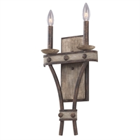 Picture for category Kalco Lighting 7042FG Wall Sconces Florence Gold Coronado