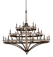 Picture for category Kalco Lighting 7044FG Chandeliers Florence Gold Coronado
