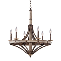 Picture for category Kalco Lighting 7046FG Chandeliers Florence Gold Coronado