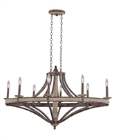 Picture for category Kalco Lighting 7048FG Chandeliers Florence Gold Coronado