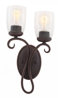 Picture for category Kalco Lighting 7202AC Wall Sconces Antique Copper Castaic