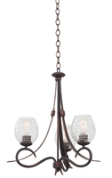 Picture for category Kalco Lighting 7358AC Chandeliers Antique Copper Seabrook