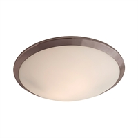 Picture for category Flush Mounts 2 Light With Oil Rubbed Bronze Finish Medium Bulbs 4 inch 120 Watts