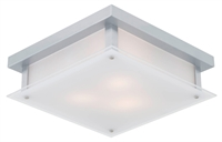 Picture for category Flush Mounts 3 Light With Chrome Tone Finish Medium Base Bulbs 14 inch 180 Watts