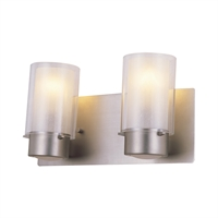 Picture for category Bathroom Vanity 2 Light With Buffed Nickel Finish Medium Bulbs 14 inch 200 Watts