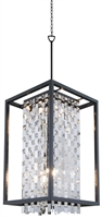Picture for category Pendants 6 Light With Graphite Tone Finished Medium Base Bulbs 16 inch 600 Watts