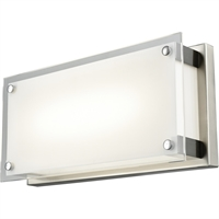 Picture for category Wall Sconces 1 Light With Buffed Nickel Tone Finish LED Bulbs 12 inch 10.5 Watts
