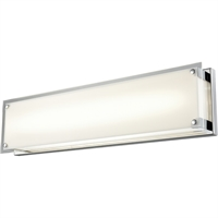 Picture for category Bathroom Vanity 1 Light With Chrome Tone Finished LED Bulb Type 24 inch 30 Watts