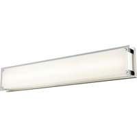 Picture for category Bathroom Vanity 1 Light With Buffed Nickel Finished LED Bulbs 36 inch 40.5 Watts