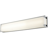 Picture for category Bathroom Vanity 1 Light With Chrome Tone Finish LED Bulb Type 36 inch 40.5 Watts