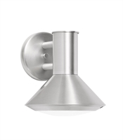 Picture for category Wall Sconces 1 Light With Brushed Aluminum Tone Finish Intergrated Bulb Type 7 inch