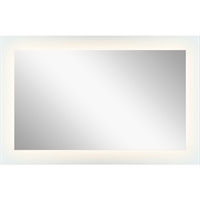 Picture for category Mirrors With Clear White Finish Steel Drum Material Intergrated Frosted Edge Glass Bulbs 42 inch