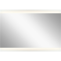 Picture for category Mirrors With Clear White Finish Steel Drum Material LED Frosted Edge Glass Bulbs 27 inch