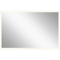 Picture for category Mirrors With Clear White Finish Steel Drum Material LED Frosted Edge Glass Bulbs 25 inch