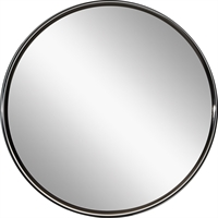 Picture for category Mirrors With Clear White Finish Steel Drum Material Hardwired Circle Shade 5 inch