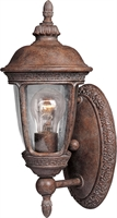 Picture for category Wall Sconces 1 Light Bulb Fixture With Sienna Finish Die Cast Aluminum Material Medium Bulbs 6 inch 100 Watts