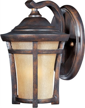 Picture of Wall Sconces 1 Light Bulb Fixture With Copper Oxide Finish Viex Material GU24 Bulbs 7 inch 13 Watts