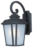 Picture for category Wall Sconces 1 Light Bulb Fixture With Black Oxide Finish Die Cast Aluminum Material Medium Bulbs 9 inch 100 Watts
