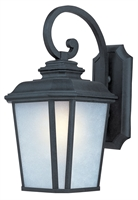Picture for category Wall Sconces 1 Light Bulb Fixture With Black Oxide Finish Die Cast Aluminum Material Medium Bulbs 11 inch 100 Watts