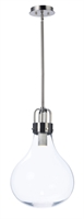 Picture for category Pendants 1 Light Bulb Fixture With Dark Satin Nickel Finish Steel+Aluminum Material PCB Bulbs 14 inch 6 Watts