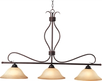 Picture for category Island 3 Light Bulb Fixture With Oil Rubbed Bronze Finish Iron Material Medium Bulbs 13 inch 300 Watts