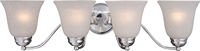 Picture for category Bathroom Vanity 4 Light Bulb Fixture With Polished Chrome Finish Iron Material Medium Bulbs 28 inch 400 Watts