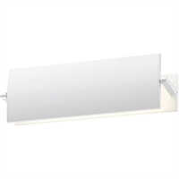 "Picture for category Wall Sconces 1 Light Bulb Fixture With Textured White Finished LED 12"" 10 Watts"