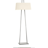 "Picture for category Floor Lamps 2 Light Bulb Fixture With Satin Nickel Finish Medium 22"" 200 Watts"
