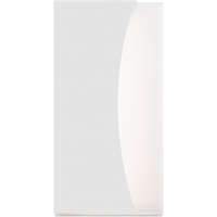 "Picture for category Wall Sconces 1 Light Fixture With Textured White Finish Metal Optical Acrylic LED Module 7"" 21 Watts"