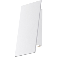 "Picture for category Wall Sconces 1 Light Fixture With Textured White Finish Metal Aluminum LED Module 4"" 10 Watts"