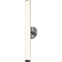 "Picture for category Bathroom Vanity 1 Light Bulb Fixture With Polished Chrome Finish Metal / Glass Integrated 2"" 15 Watts"