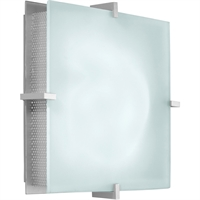 "Picture for category Wall Sconces 2 Light Bulb Fixture With Satin Silver Finished E-12 11"" 120 Watts"